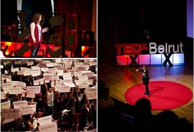 TEDxBeirut stage, Nov. 2012
