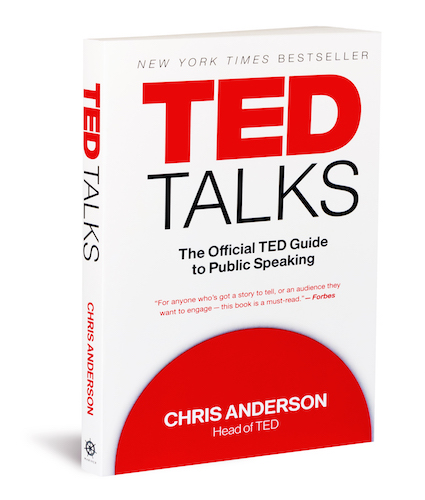 Book cover: TED Talks: The Official TED Guide to Public Speaking