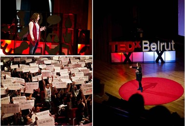 TEDxBeirut stage, Nov. 2012